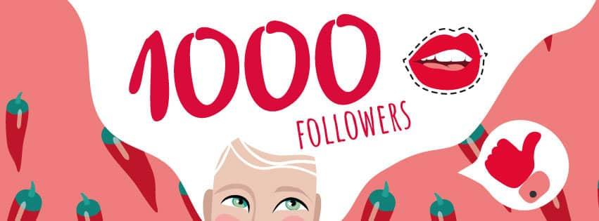Facebook 1000 Followers