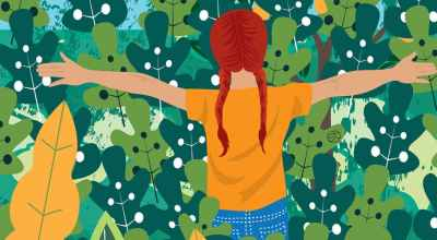 Let's Forage With Kids   Stefania Tomasich Illustration   CrunchyTales
