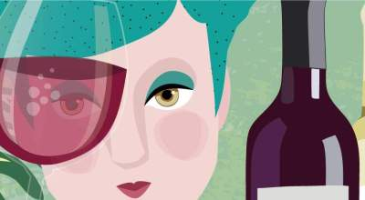Wines Illustration | CrunchyTales Stefania Tomasich