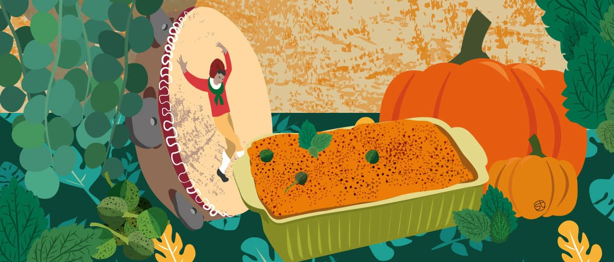 Spicy Treat: Calabrese Pumpkin With Mint And Capers