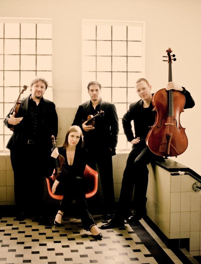 Matangi kwartet Photo: Marco Borggreve