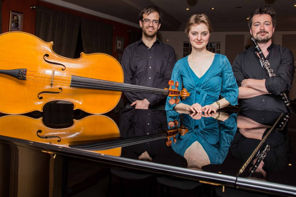 Arcadië Trio (klarinet - cello - piano) Zaterdag 23 februari 2019