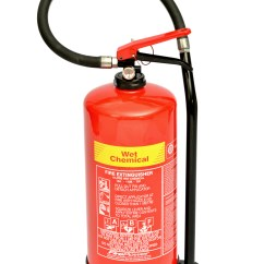 Fire Extinguisher For Kitchen Use Damascus Steel Knife Wet Chemical Sale