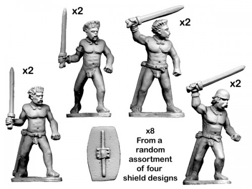 Wargame News and Terrain: Crusader Miniatures: New Ancient