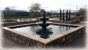 Lorimar fountain