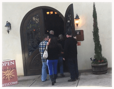 Danza Del Sol Entrance