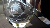 Chapin Family Wine Glass