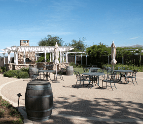 Riverbench Winery Patio