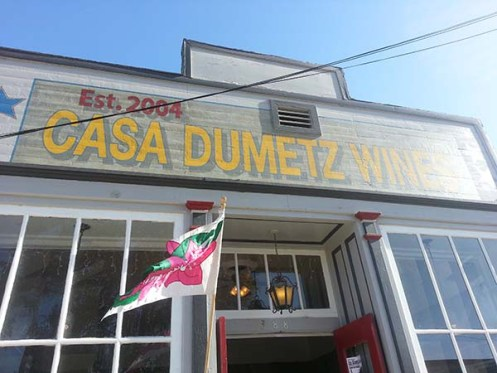Casa Dumetz Los Alamos Central Coast Wine Country