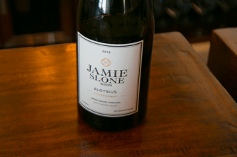 Jamie Slone 2013 Aloysius Chardonnay