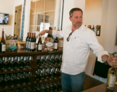 Jamie Slone at the Tasting Bar