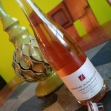 A Grenache-Syrah Rosé from the Rhone Valley in France.