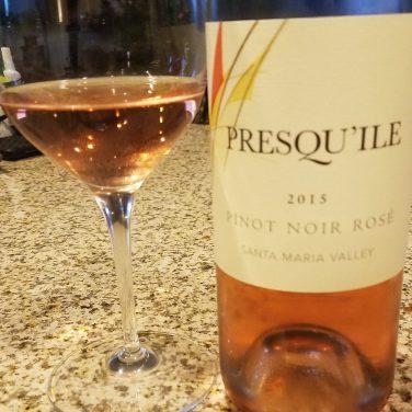 Presqu'ile Pinot Noir Rose