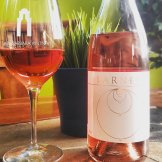 An estate rosé from Larner Vineyard in Santa Barbara's Ballard Canyon that is a GSM blend Rosé