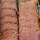 The delicate color of salmon