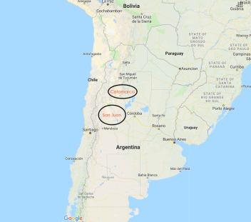 Syrah Regions in Argentina