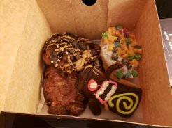Voodoo Donuts box