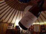 Sunset Yurt and Johnan Wine