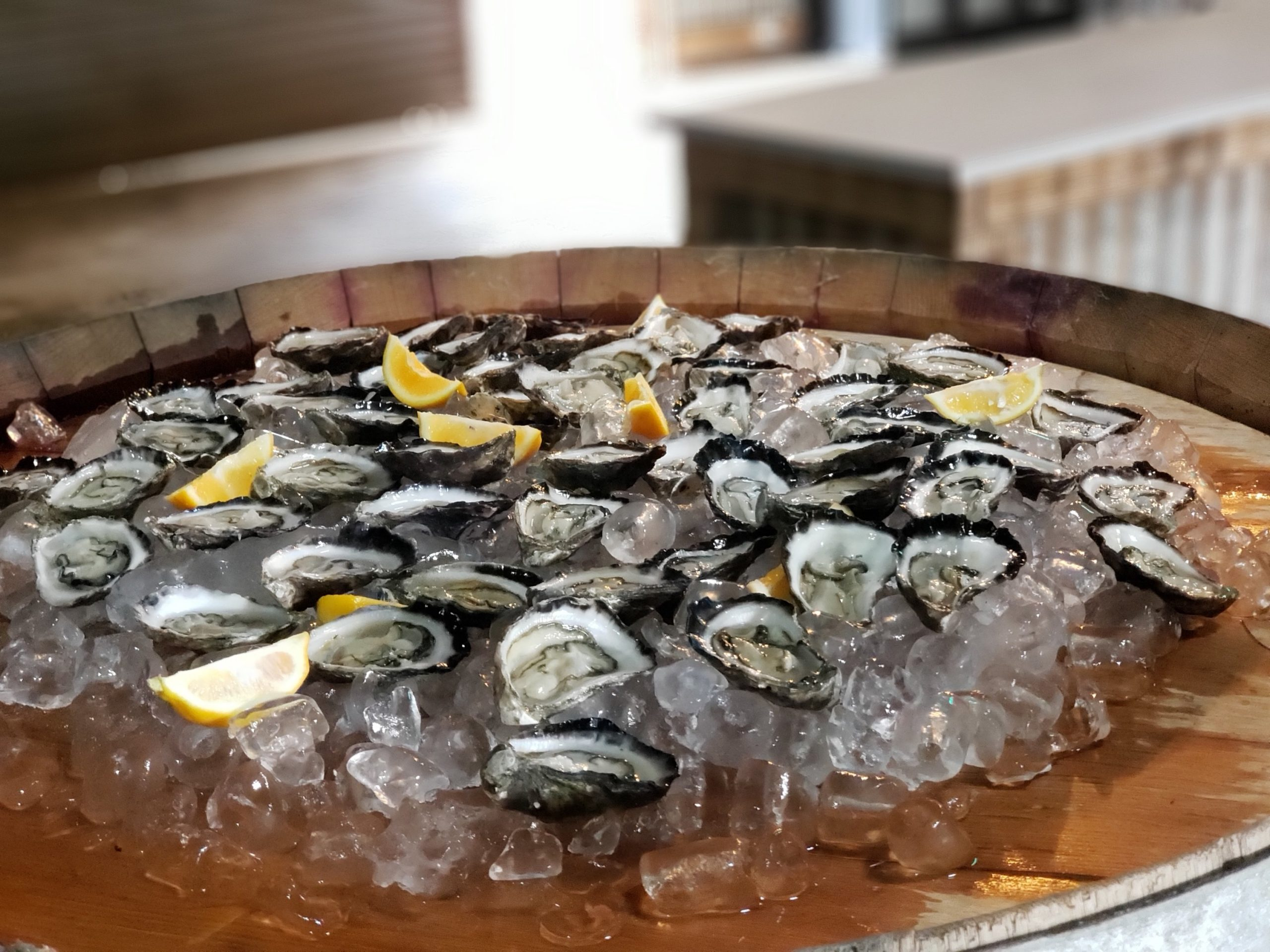 Oysters to pair with sparkling wines at Swift in Orange Australia NSW