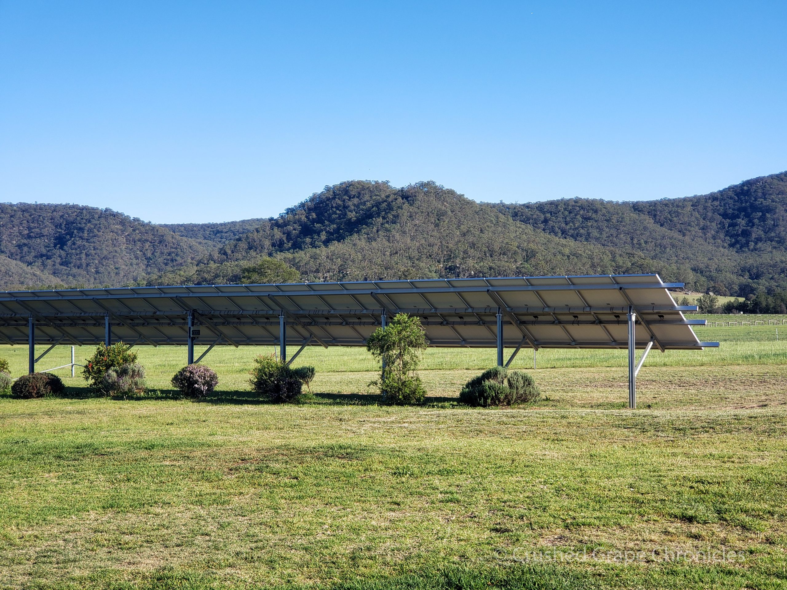 Krinklewood in Hunter Valley Australia 2018 Biodynamic and Green Solar Panels