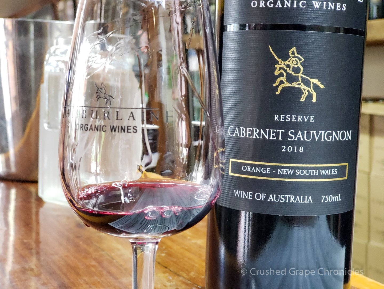 Tamburlaine Organic Wines, 2018 Cabernet Sauvignon