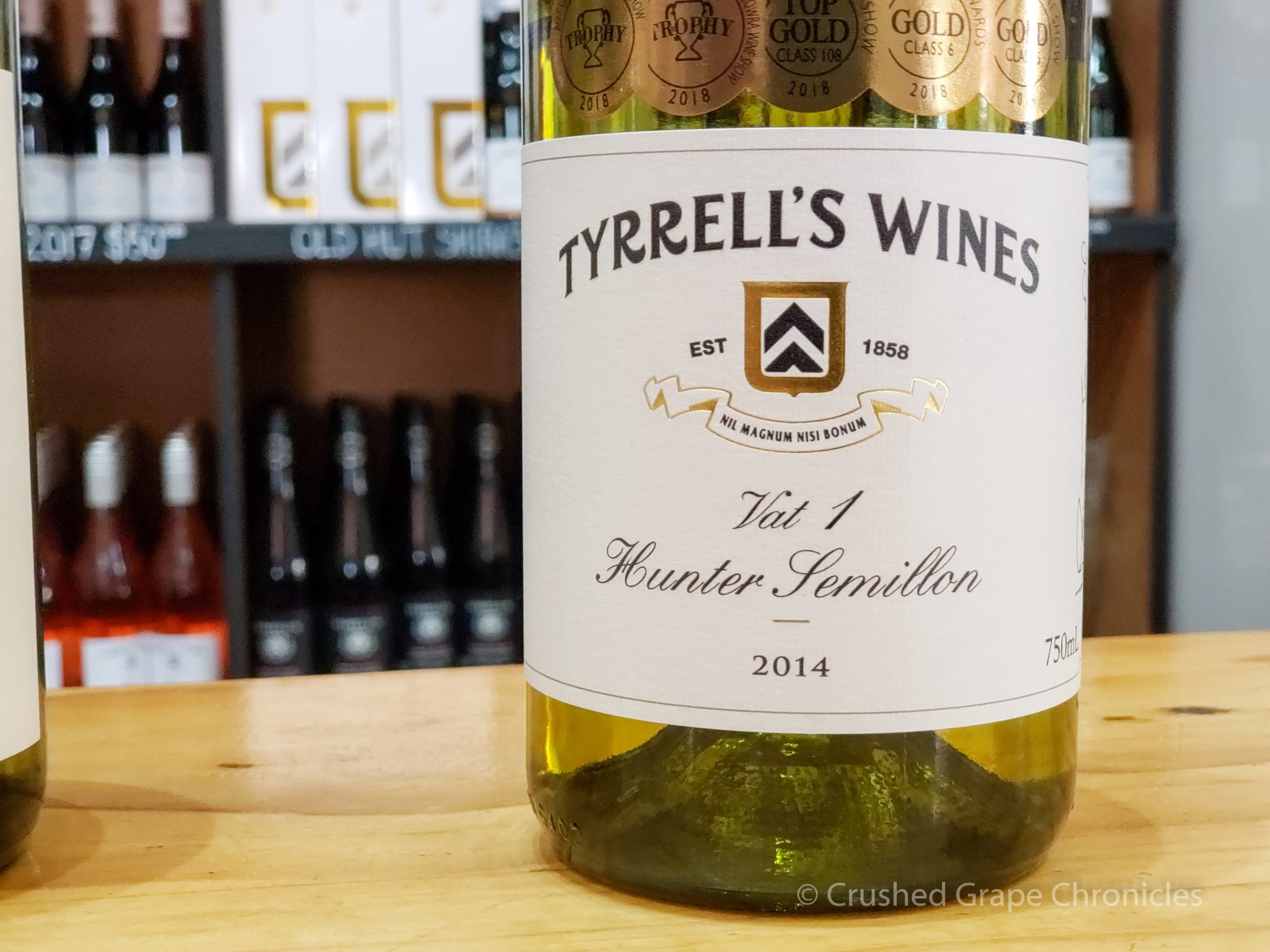 Tyrrell's Winery in Hunter Valley Australia Vat 1 Semillon