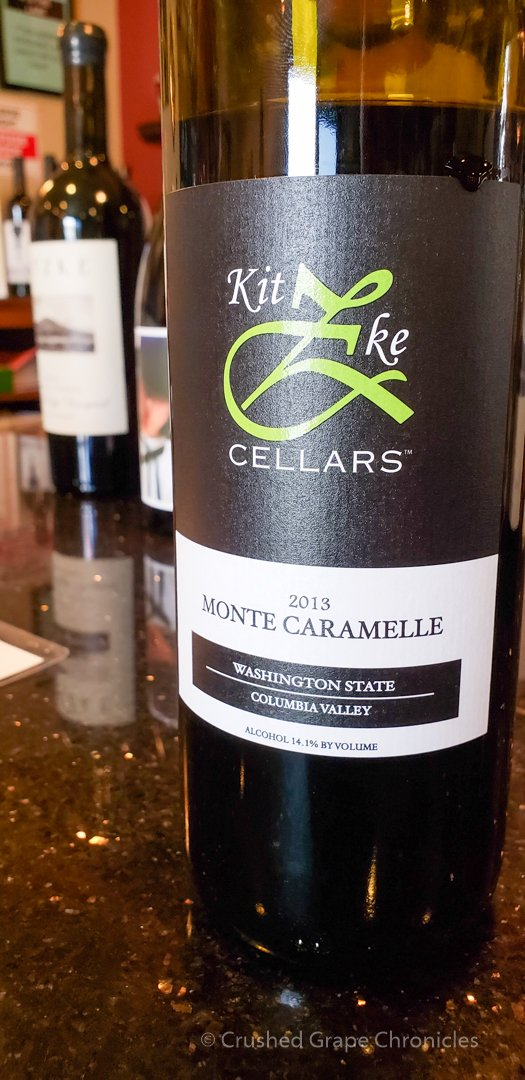 2013 Monte Caramelle from Kitzke Cellars with the older label.