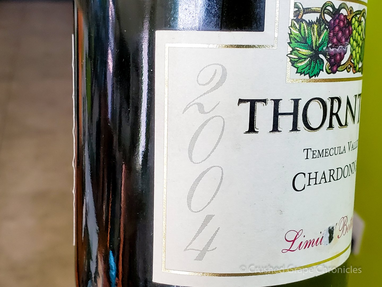 Thornton 2004 Chardonnay from Temecula