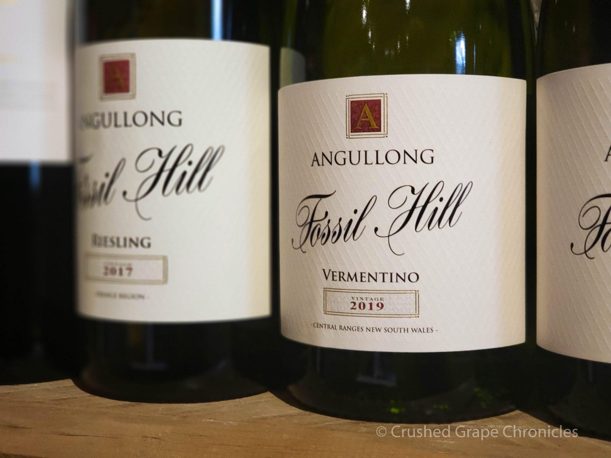 Angullong 2019 Vermentino at Angullong Vineyard in Cellar Door in Millthorpe, Orange NSW Australia
