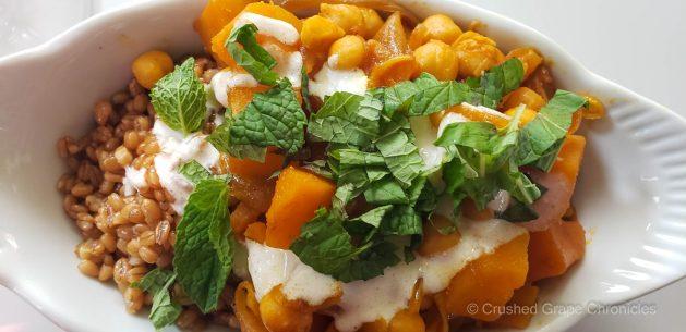 Afghan butternut stew