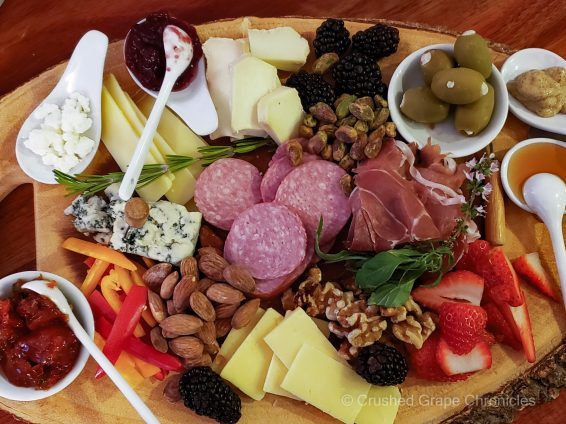 Cheese plate pairing for Cabernet Franc