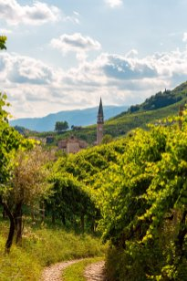 Views of the villages in the Prosecco DOC - Photo ©Mattia Mionetto courtesy Val DOca