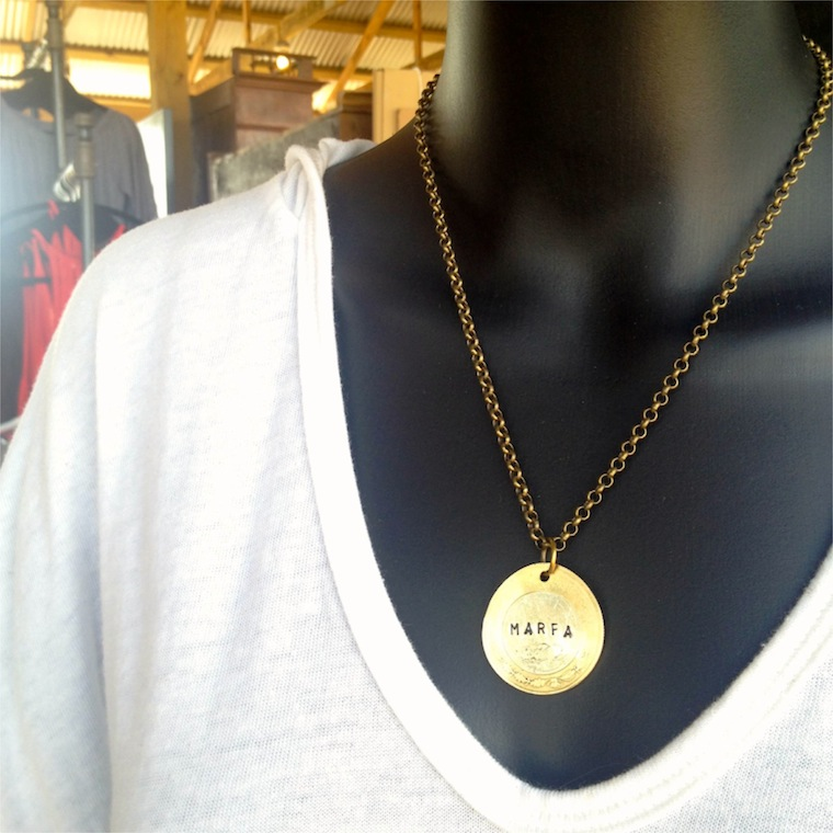 pure marfa necklace