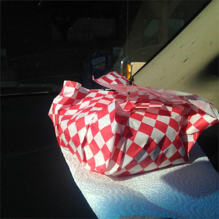 RG Burger in Paper
