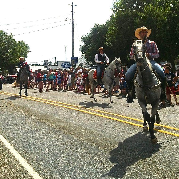 July 4 Dancing Horse