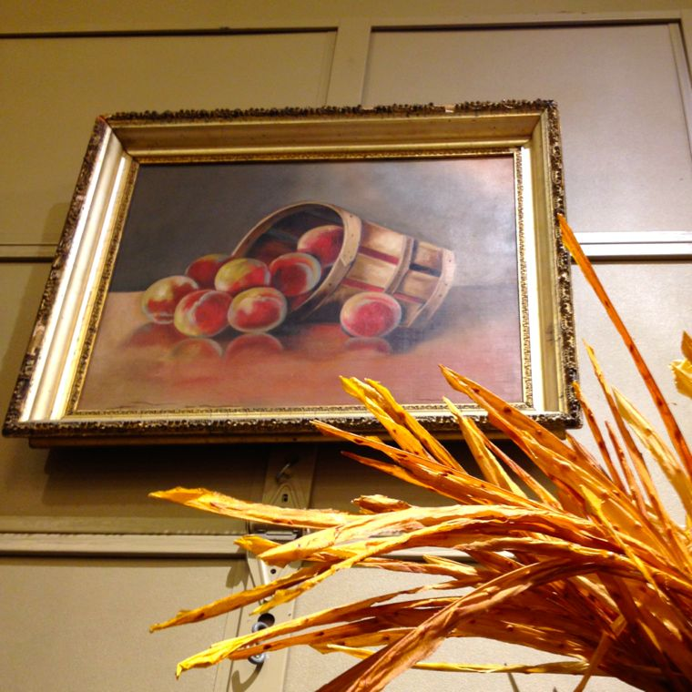 Leftovers Peach Art