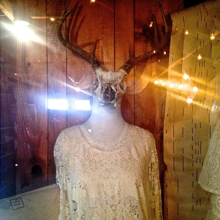 spellbound deer mannequin