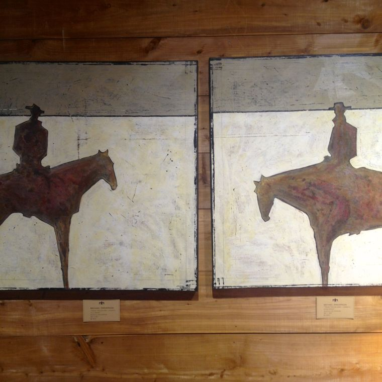 Tbird Ranch Cowboy Art