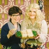 70s Week: Terrific Women Make Pineapple-Ham Spread