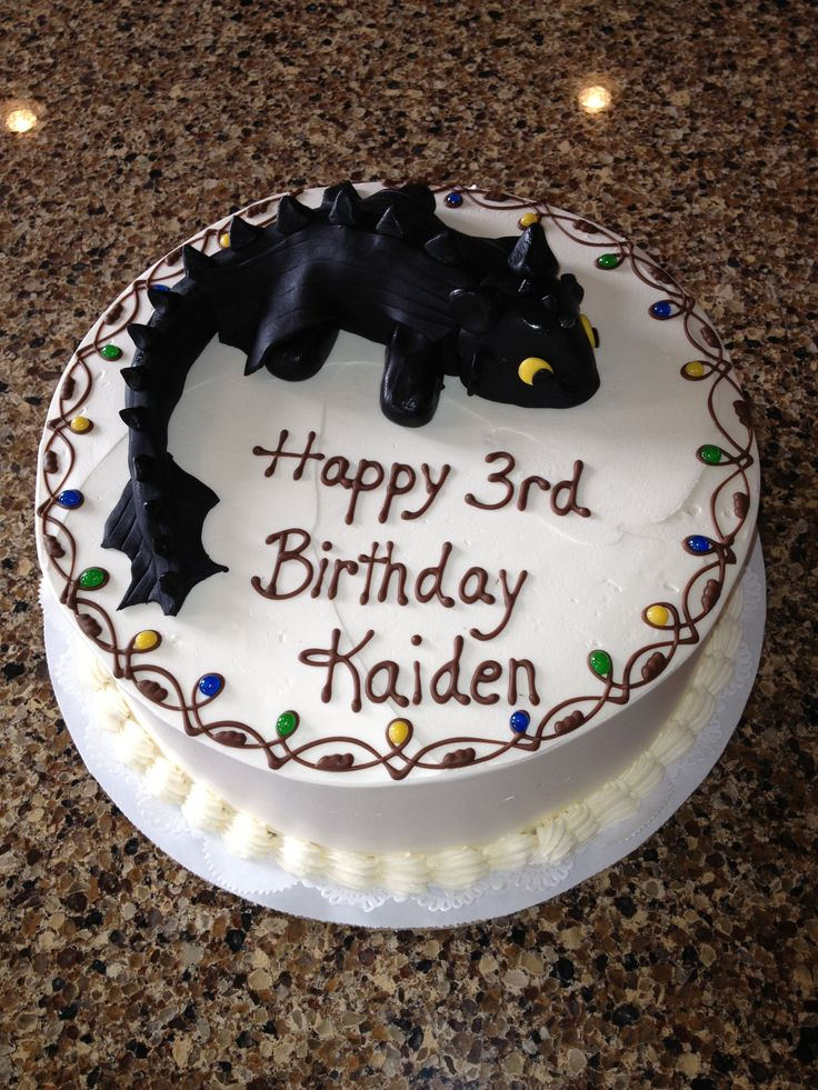 Some Cool How to Train Your Dragon Cakes How to Train