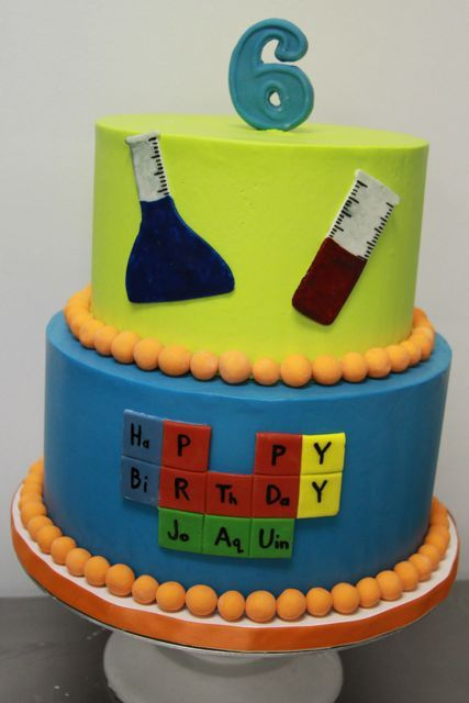 Some Periodic Table Themed Cakes Periodic Table Cake Ideas