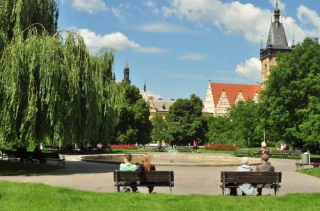 O Jardim na Praça de Karlovo