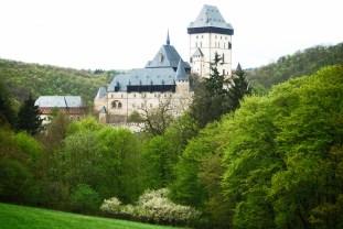 O Castelo de Karlstejn