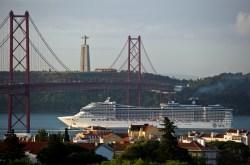 MSC Divina em Lisboa