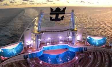 Aqua Theater do Oasis of the Seas