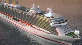Rainha de Inglaterra irá baptizar o Britannia, novo navio da P&O Cruises