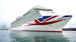 Britannia chega às Caraíbas pela primeira vez