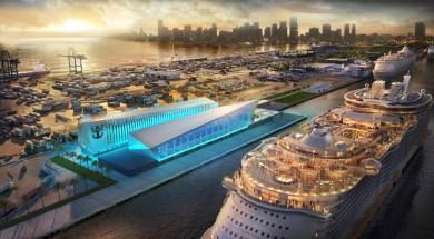 Novo Terminal da Royal Caribbean no Porto de Miami