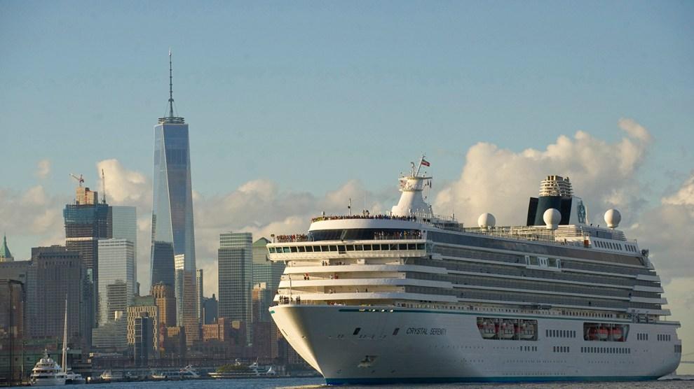 Crystal Serenity chega a Nova Iorque