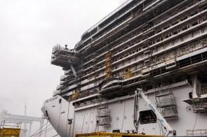 MSC Seaside em construção